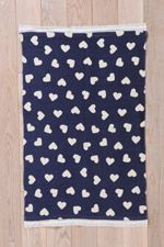 Ditsy Heart 2x3 Rug at Urban Outfitters