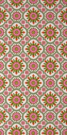 Motifs Textiles, Textile Patterns, Textile Design, Fabric Design, Motif Vintage, Vintage Patterns, Retro Wallpaper, Pattern Wallpaper, Retro Pattern