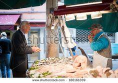 on Shutterstock, by Annalisa Bombarda - Fish Market in Venice - Italian Lifestyle