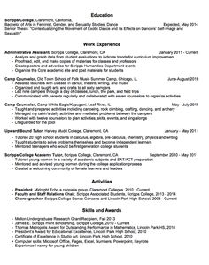 Admissions Counselor Resume Enchanting Sample Admissions Advisory Resume  Httpexampleresumecv .