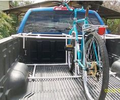 PROJECTS MADE WITH PVC PIPE: Truck bike rack