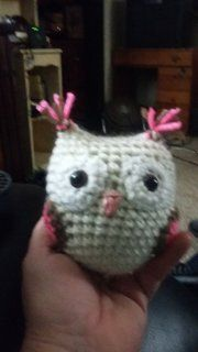 Free crochet pattern: Small amigurumi owls