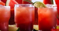 Refreshing Watermelon Margarita An easy make-ahead cocktail recipe is key for summer get-togethers.