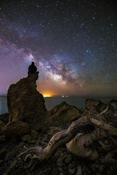 Infinity by Jose Antonio Hervas on 500px... #astrophotography #ibiza…