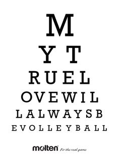 Share your love of the game this Monday! #volleyball