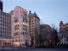 Robert A. M. Stern; Brooklyn Law School Tower, Brooklyn Law School (New Construction); Brooklyn, New York, 1994.