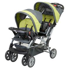 Baby Trend Sit N Stand Double, Carbon $134.42 (save $45.57)