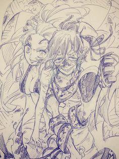Demon Slayer, Slayer Anime, Anime Demon, Manga Anime, Character Concept, Character Design, Demon Hunter, Hunter Anime, Gekkan Shoujo Nozaki Kun