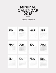 Download a free Printable 2019 Yearly Calendar from