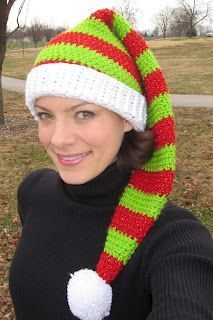 Silly Simple Elf Hat for adults