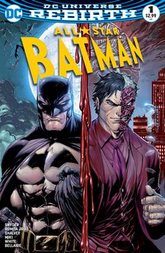 My Own Worst Enemy' part one! Superstar writer Scott Snyder explodes into an all-new Batman series alongside legendary artist John Romita Jr., reimagining some of the Dark Knight's greatest villains. First up: Two-Face! Batman must take Two-Face to a destination out of Gotham City, but the duplicitous villain has a two of spades up his sleeve. Every assassin, bounty hunter and ordinary citizen with something to hide is on their tails with one goal: kill Batman! Handcuffed together on ...