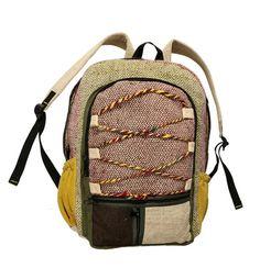 e70722e47cd Hemp Backpack Large Assorted Wholesale Jewelry, Fair Trade, Bag Making, Hemp,  Fashion