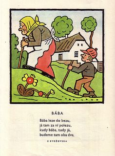 Illustration from Lada& & Paper Book, Czech Republic, Printmaking, Childhood Memories, Illustrators, Peanuts Comics, Clip Art, Posters, Cartoon