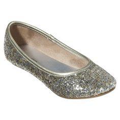 Perfect flower girl shoes!  http://www.target.com/p/Girl-s-Xhilaration-Hummingbird-Sparkle-Flat-Assorted-Colors/-/A-13786376#?lnk=sc_qi_detailbutton