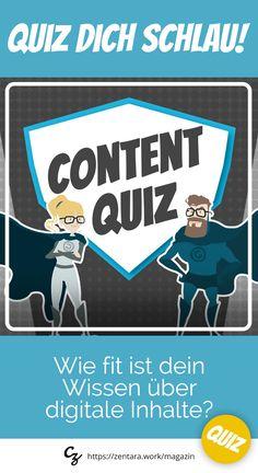 Jedes Monat neu, das Online-Business Quiz. Dieses Mal: Für alle Marketer, Blogger und Content-Heros - Wie fit ist dein Wissen über digitale Inhalte? #quiz #marketing #content