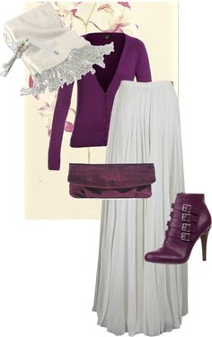 """purple set"" by nebita on Polyvore"