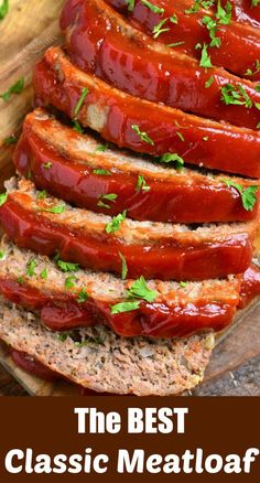 tender and juicy meatloaf recipe. It's very easy to make and topped with delicious, glaze.Amazingly tender and juicy meatloaf recipe. It's very easy to make and topped with delicious, glaze. Juicy Meatloaf Recipe, Classic Meatloaf Recipe Easy, Meatloaf Recipes, Meat Recipes, Cooking Recipes, Healthy Recipes, Classic Recipe, Amish Recipes, Dutch Recipes