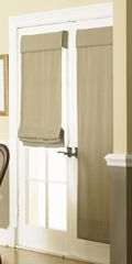 French Door Shades: A Solution to Cover Your French Door with Cellular Shades, Wood Blinds, Faux Wood Blinds and Woven Wood Shades