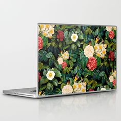 Night Forest Viii Laptop & Ipad Skin by Burcu Korkmazyurek - MacBook / Pro / Air