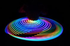 LED Hula Hoop Light Up - Weirder the Better
