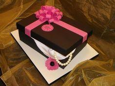 Gift Box  Cake by Kazmick