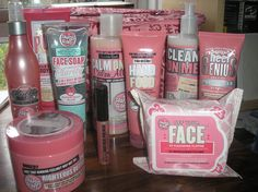 Loooove Soap And glory products