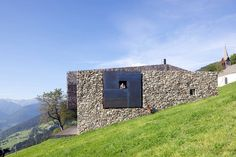 Built by Bergmeister Wolf Architekten in Vipiteno, Italy Next to the Chapel, Farmstead b, Sterzing    The site is situated in a little village, above Sterzing, on a height of...
