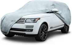 """Budge - 5LUF1 Protector V SUV Cover, 5 Layer Premium Weather Protection, Waterproof, Dustproof, UV Treated SUV Cover Fits SUVs up to 186"""" Car Covers, Interior Accessories, Weather, Weather Crafts"""