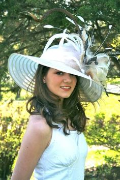 Vinzetta Millinery Kentucky Derby Hat Ladies Hats, Hats For Women, Fascinators, Headpieces, Accessorize Scarves, Tea Hats, Derby Outfits, Kentucky Derby Hats, Love Hat