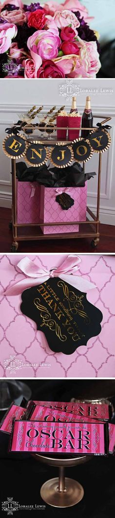 Love, Love, Love the styling of Loralee Lewis' Bar Cart - would be perfect for a girls night in
