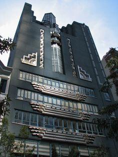 #ArtDeco | The Art Institute, Philadelphia, designed by Gabriel Blum Roth and Harry Sternfeld, 1934.