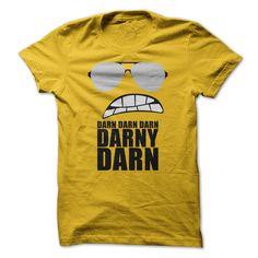 Inspired by the LEGO movie - Bad Cop - 'Darn Darn Darn Darny Darn' Funny T Shirt   - For Cayden