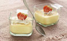 """""""Natillas Caseras De Chocolate Blanco"""" en Nestlé Cocina #recetas #nestlecocina #menuplanner #cocina"""