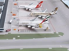 Diecast Models, Airports, Diorama, Planes, Amsterdam, Activities For Kids, Mini, Airplanes, Dioramas