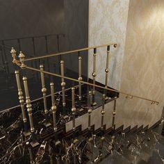 Проектирование и 3-D визуализация - ограждения  для лестниц Grand-Forge