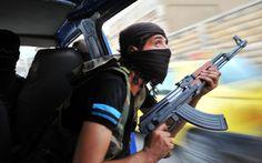 Syrian rebels hunt f