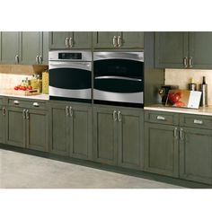 However you design your kitchen, there is a single or double wall oven that will fit in seamlessly.