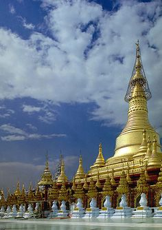A pagoda in Pyay, Burma, Myanmar