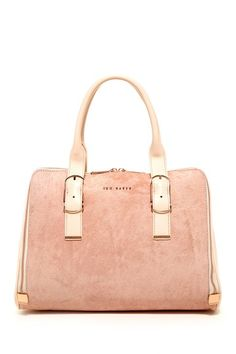 Tannah Slim Buckle Exotic Tote by Ted Baker on @HauteLook