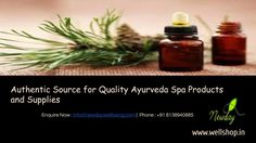 Greetings from Newday...  We are a professionally managed firm engaged in the distribution of high grade type of Ayurveda equipments , Ayuveda  oils,Essentail oils and Yoga mats. Owing to our profound experience of many years we are able to understand our client's requirement pertaining to the cosmetic and Spa industry.