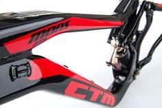 Brand new CTM Mons 650b downhill frame  more: http://mtb.pl/nowosc-ctm-mons-2016-6095
