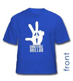 "The Dirk Nowitzki ""Ghostface Drillah"" shirt"
