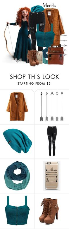 Merida - Fall - Disney Pixar's Brave by rubytyra on Polyvore featuring Element, Patagonia and Casetify