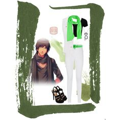 Cecil Aijima Casual Cosplay (Concert) by psychometorzi on Polyvore