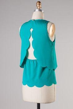 Catch Bliss Boutique - Hallie Blouse in Dark Teal , $38.00 (http://www.catchbliss.com/hallie-blouse-in-dark-teal/)