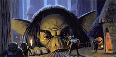 Post with 15 votes and 609 views. Shared by One of the creepiest Ralph Mcquarrie Star Wars Concept Art Ralph Mcquarrie, Starwars, Star Wars Episode 6, Star Wars Painting, Star Wars Concept Art, Game Concept, Star Wars Rpg, Star Trek, Star Wars Images