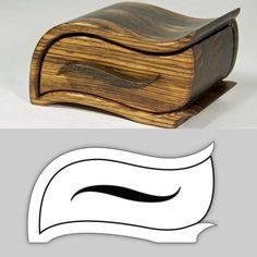 bandsaw box:                                                                                                                                                                                 More