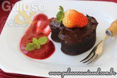 Receita de Bolinhos de Chocolate Sem Glúten