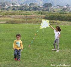 how to make a kite~ BuggyandBuddy.com