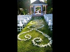 Great idea if the wedding was outside . A white event on a sunny day